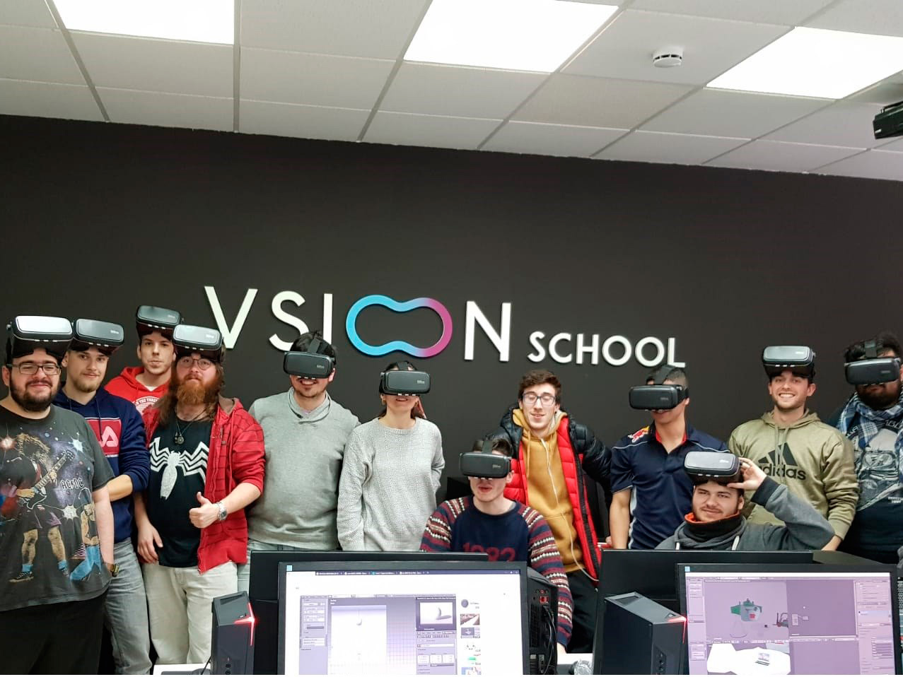 Vsion Studio imparte formación de Realidad Virtual en sus aulas de Vsion School